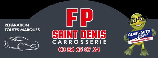 Logo F.P. Saint Denis Carrosserie